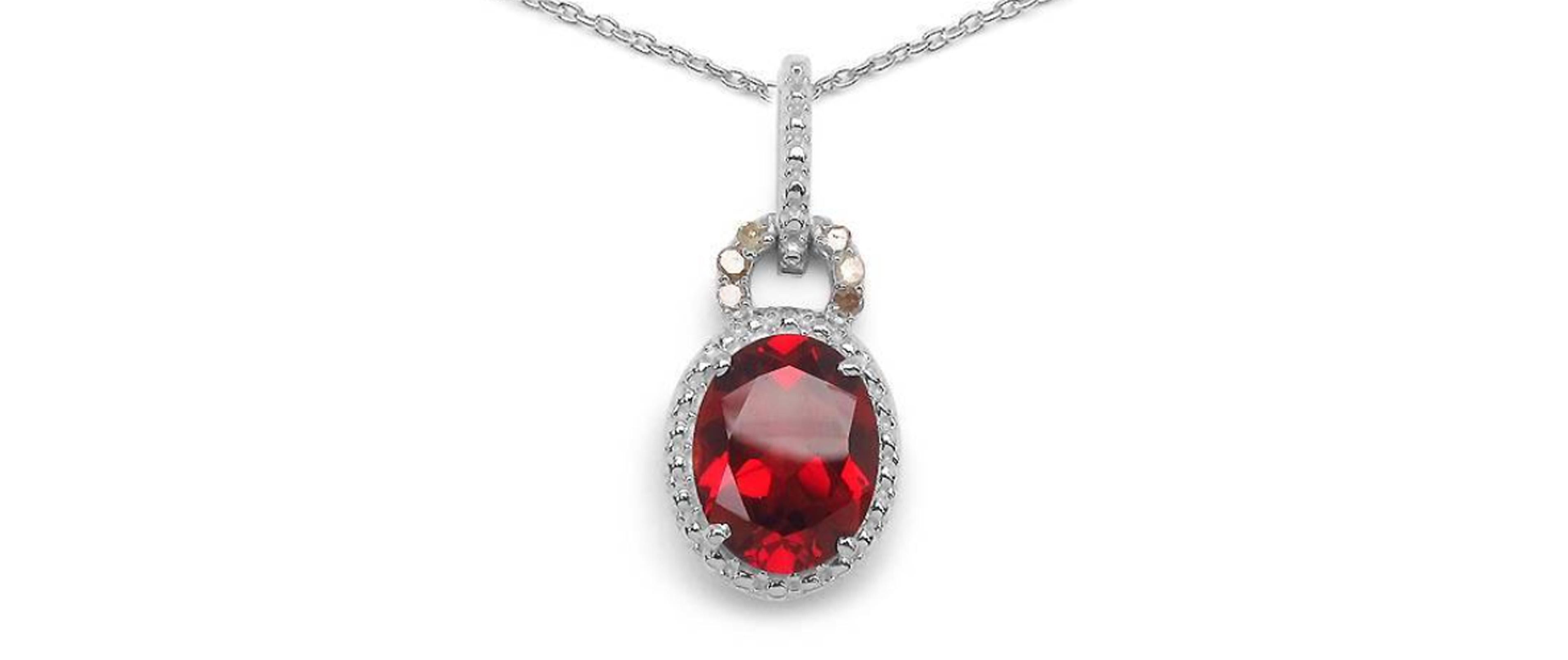 Silver necklace | Majesty Diamonds