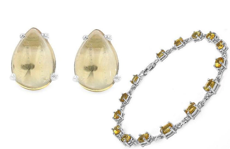 Feel the strength in your style with the citrine vibes.