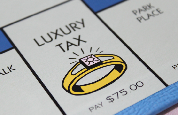 Luxury tax can vanquish your budget.