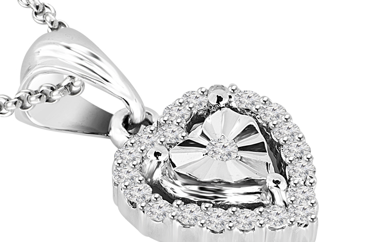 Take her breath away with this pendant!